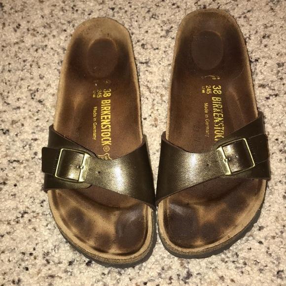 577eeb61d12 Birkenstock Shoes - SALE! Birkenstock Madrid bronze sandals